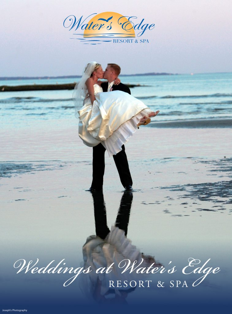 Wedding Brochure at Water's Edge Resort & Spa- Westbrook CT