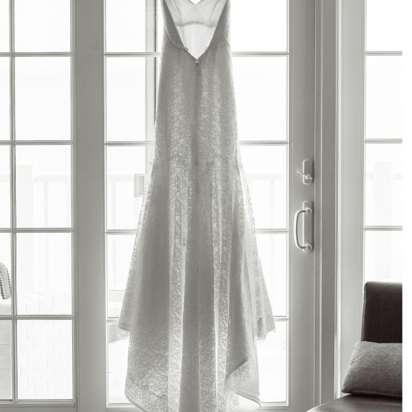 Wedding Dress at Water's Edge Resort & Spa- Westbrook CT
