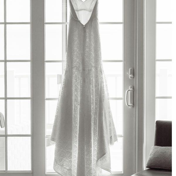 Wedding Dress at Water's Edge Resort & Spa- Westbrook CT