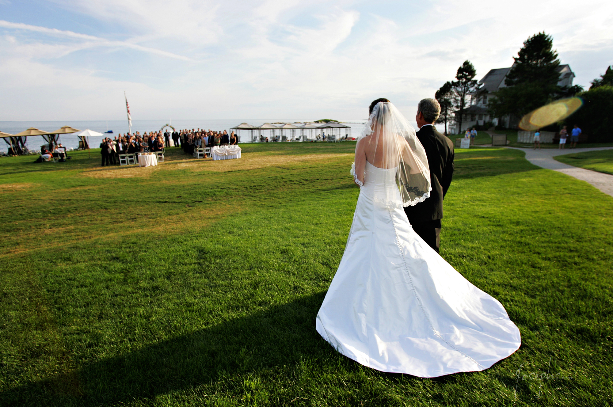 Ceremony at Water's Edge Resort & Spa- Westbrook CT