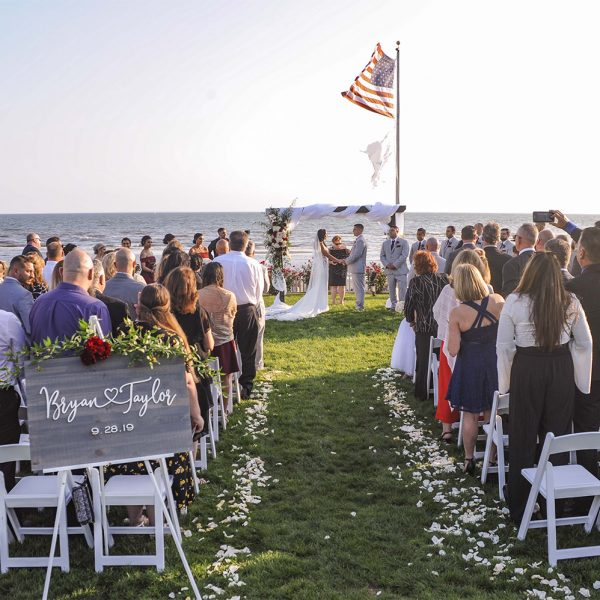 Oceanfront Weddings at Water's Edge Resort & Spa- Westbrook CT