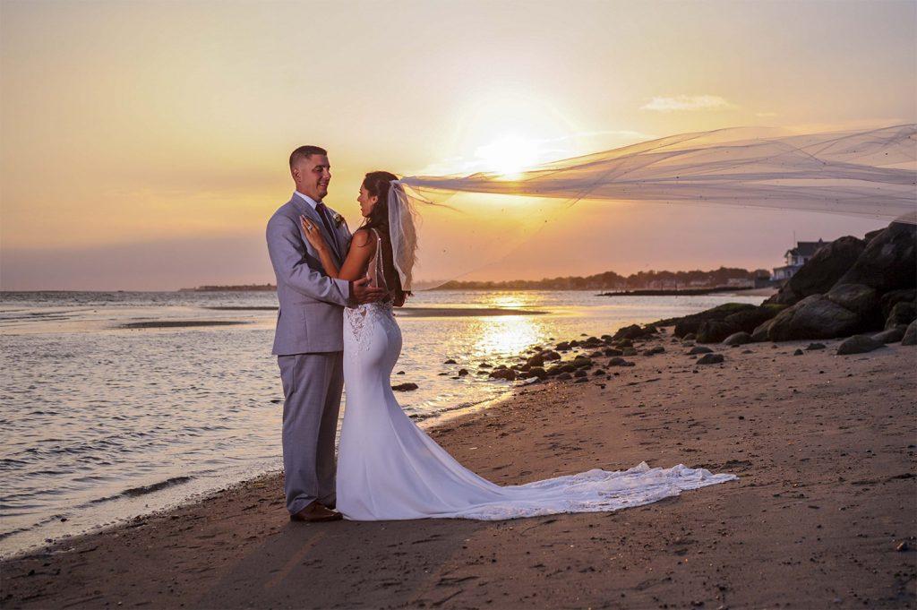 Beachfront Weddings at Water's Edge Resort & Spa- Westbrook CT