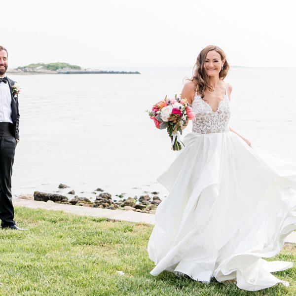 Oceanfront weddings at Water's Edge Resort & Spa- Westbrook CT
