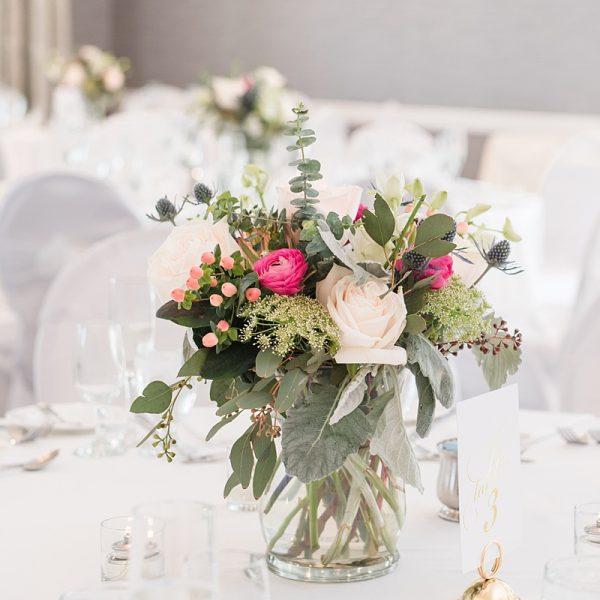 Wedding Flowers at Water's Edge Resort & Spa- Westbrook CT