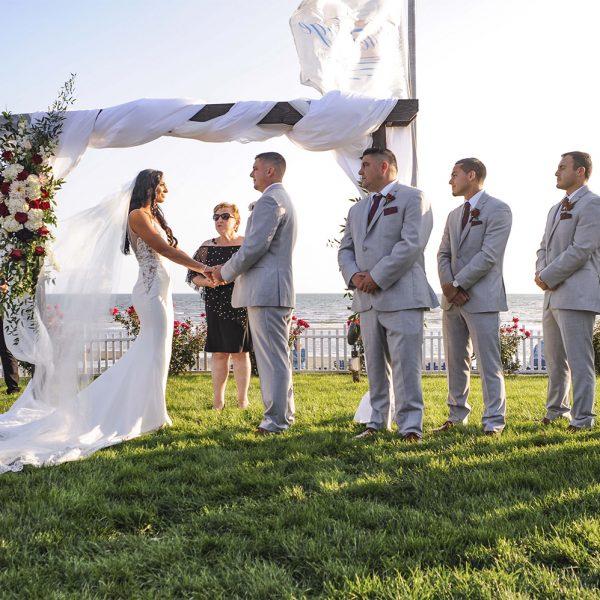 Oceanfront Wedding at Water's Edge Resort & Spa- Westbrook CT