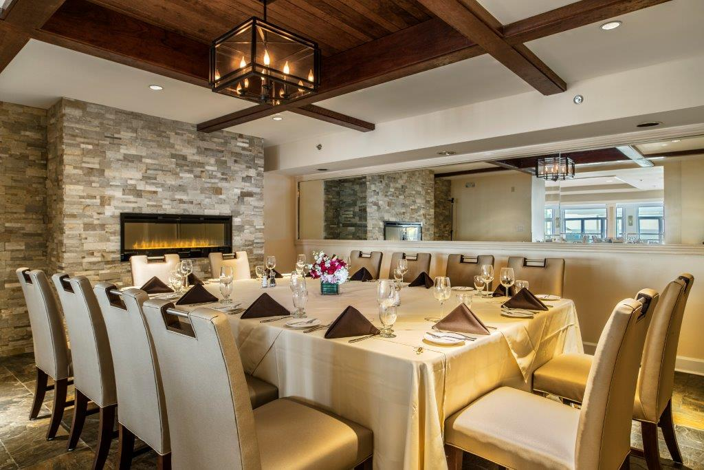 Private dining at Water's Edge Resort & Spa- Westbrook CT